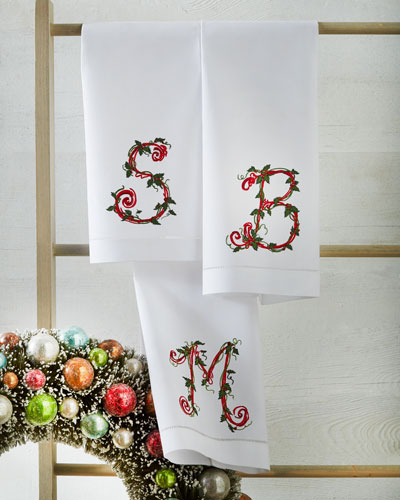 Personalized Hemstitched Guest Towel