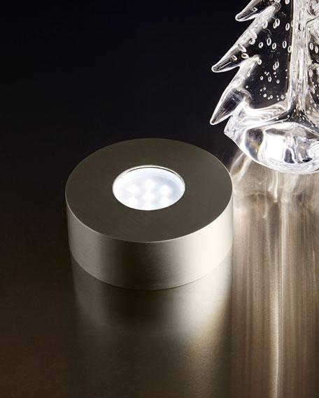 Silver-Tone LED Base