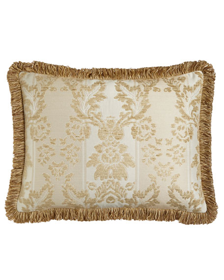 Austin Horn Collection Antoinette King Chenille Sham with Loop Fringe
