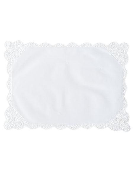 12 Crochet-Edge Placemats