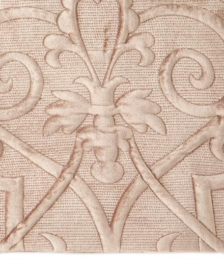Callisto Home King Troyes Rayon Velvet Sham