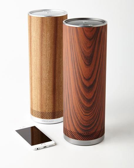 Stelle Audio Wood Pillar Wireless Speaker