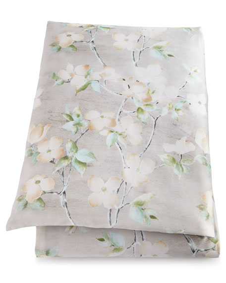 Queen Dogwood Duvet Cover