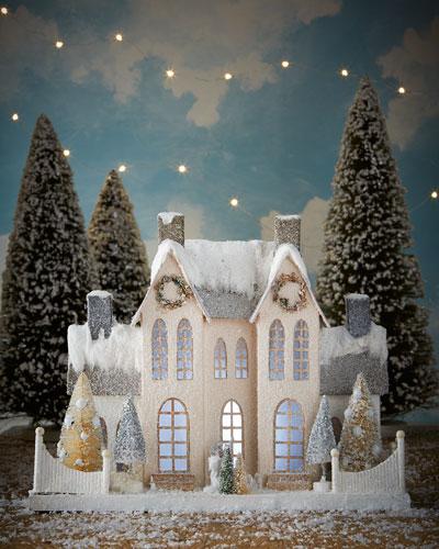Elegant Ivory Manor