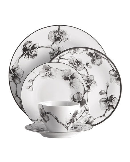 Michael Aram 5-Piece Black Orchid Dinnerware Place Setting
