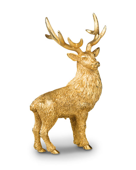 Image 2 of 2: Jay Strongwater Small Stag Figurine