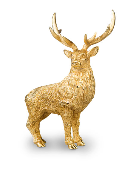 Image 1 of 2: Jay Strongwater Small Stag Figurine