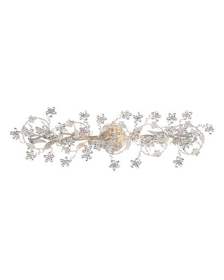 Crystorama 5-Light Floral Fixture