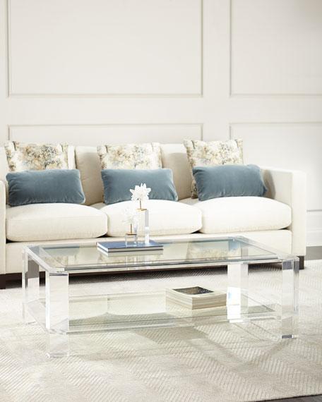 Interlude Home Landis Acrylic Coffee Table