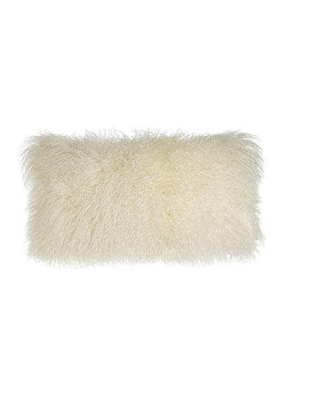 Donna Karan Home Moonscape Flokati Wool Pillow, 11
