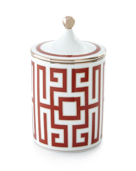 Richard Ginori 1735 Labirinto Scented Candle, Red