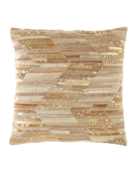 Nourison Zigzag Thin Stripes Pillow
