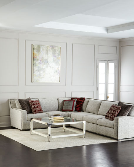 Massoud Suki Right-Side Return Sectional and Matching Items