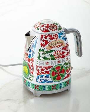 Smeg Dolce Gabbana x SMEG Sicily Is My Love Tea Kettle