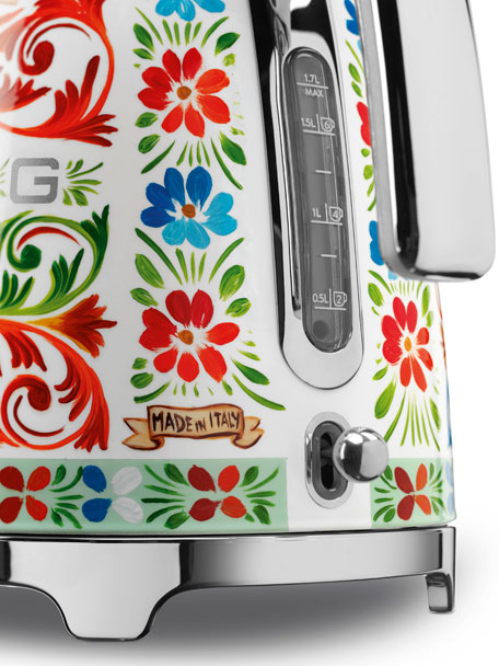 Dolce Gabbana x SMEG Sicily Is My Love Tea Kettle