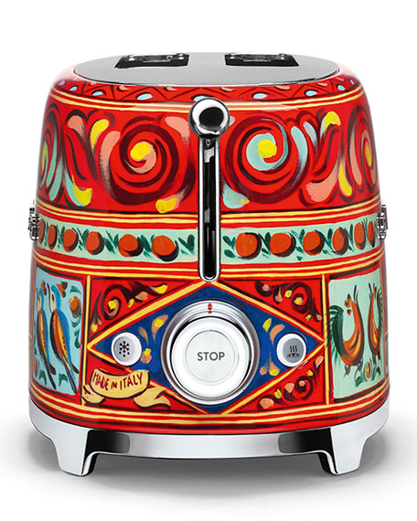 dd96822161 Smeg Dolce Gabbana x SMEG Sicily Is My Love Toaster | Neiman Marcus