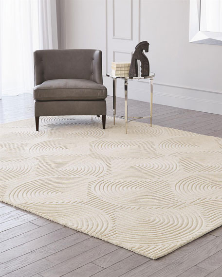 Image 1 of 4: Global Views Adonis Hand-Tufted Rug, 5' x 8'