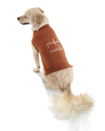 Profesh Cuddler Dog Sweater