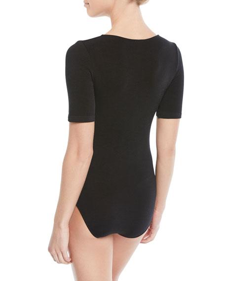 Wolford Bahamas Short-Sleeve Bodysuit