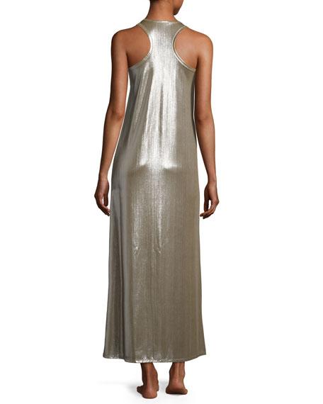Metallic Tank Dress