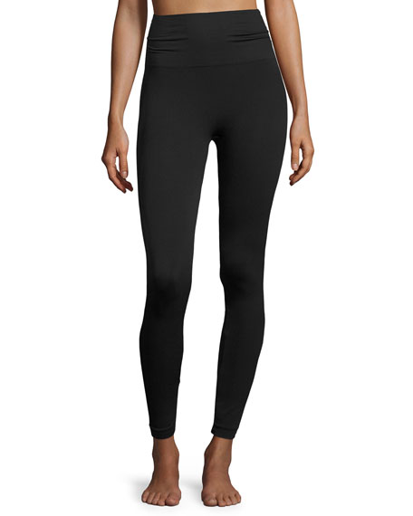 Image 1 of 3: Spanx Plus Size Look-at-Me-Now™ Seamless Leggings