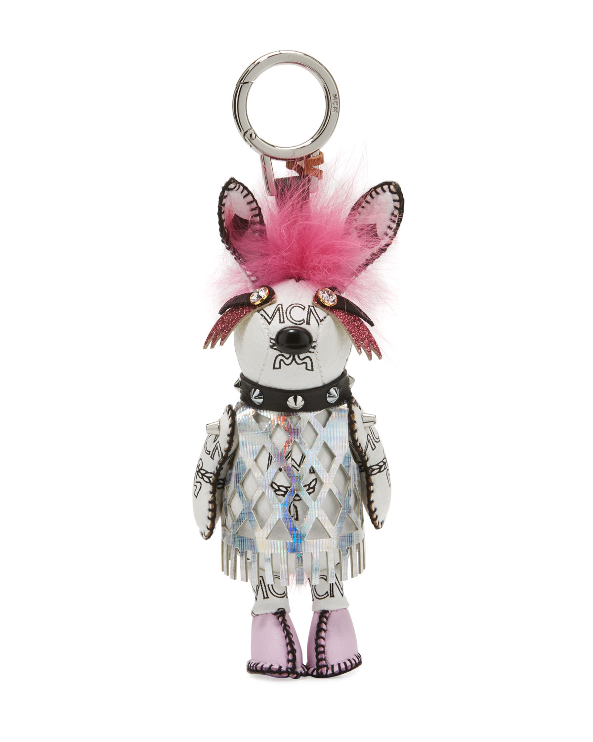 MCM Rabbit Punk Charm for Handbag   Neiman Marcus 64c47e4c19