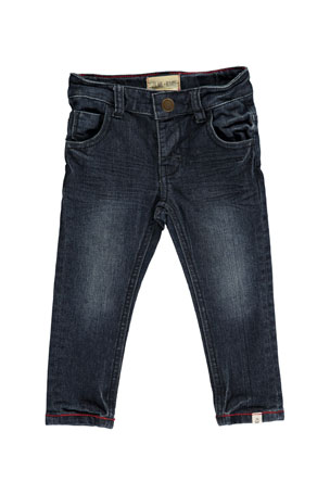 Me & Henry Slim Fit Denim Jeans w/ Children's Book, Size 3T-10