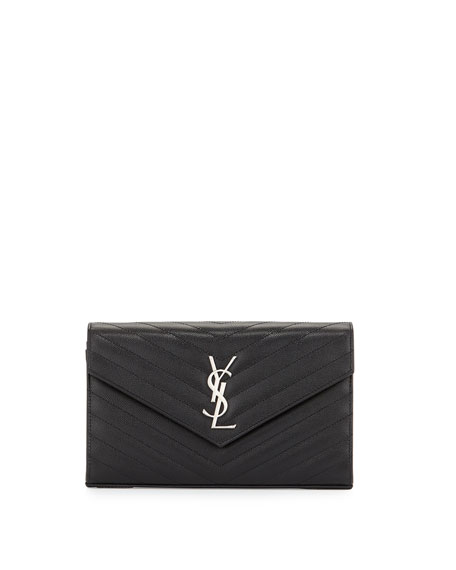 Grain de Poudre Calfskin Wallet-on-Chain
