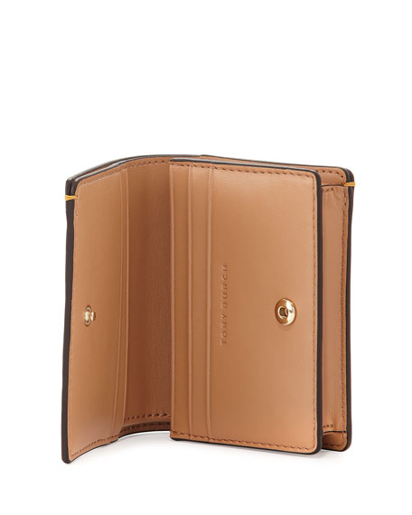 Parker Leather Foldable Mini Wallet