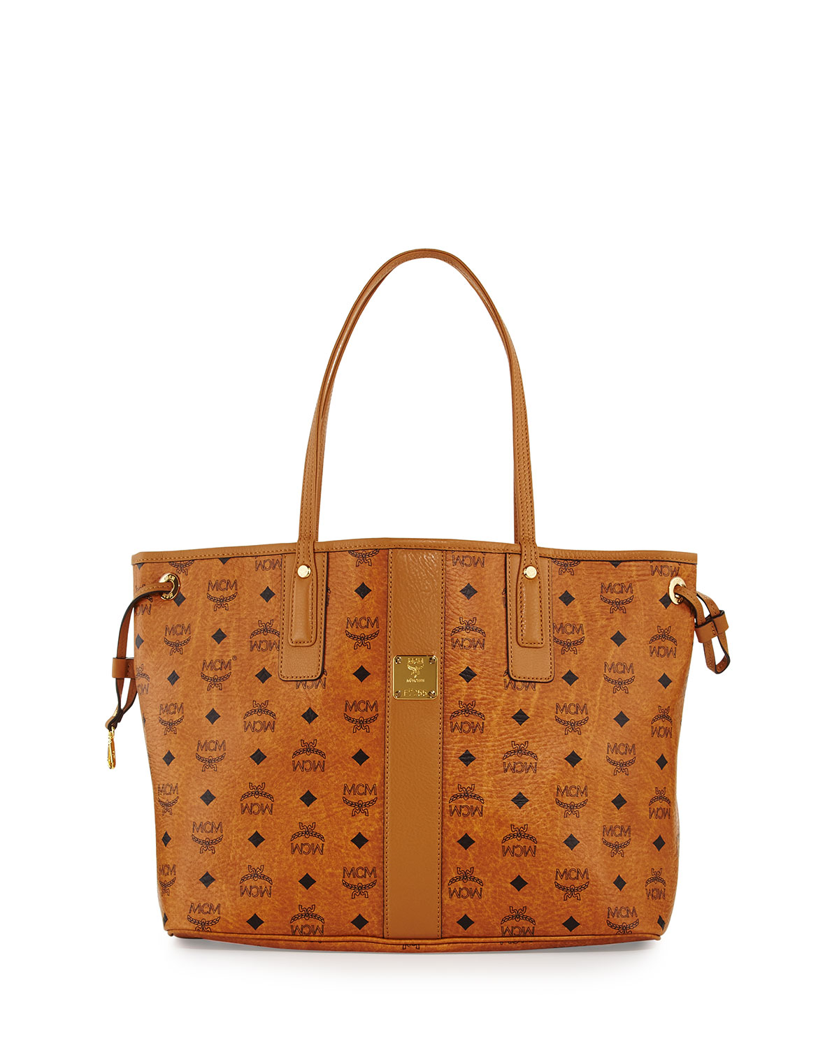 17666c665dc67 MCM Liz Reversible Medium Visetos Tote Bag