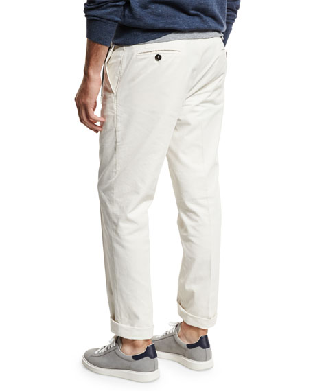 Lightweight Flat-Front Pants