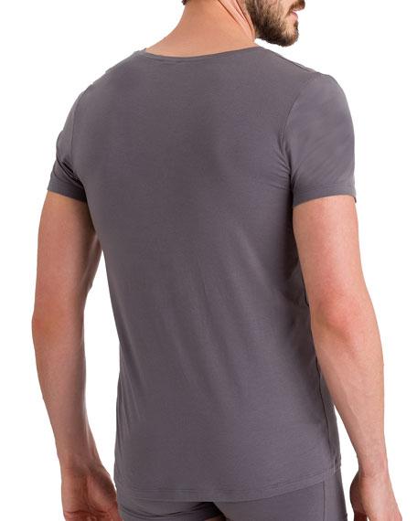 Cotton Superior V-Neck T-Shirt