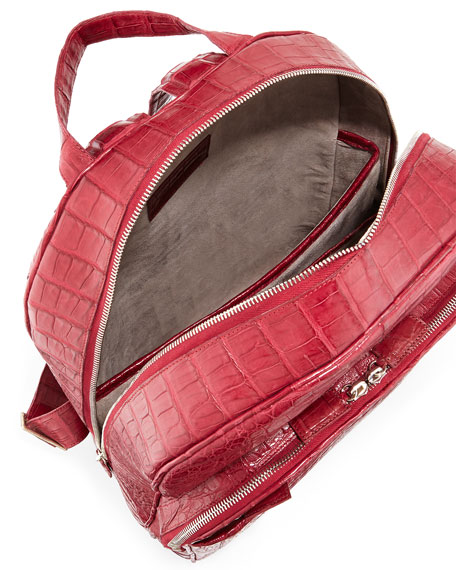 Caiman Crocodile Backpack