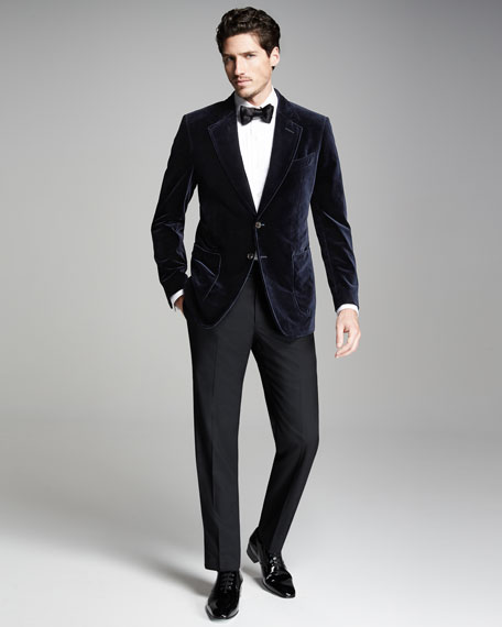 TOM FORD Solid Satin Bow Tie