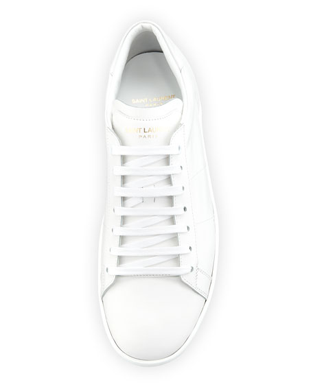 Men's SL/01 Leather Low-Top Sneakers