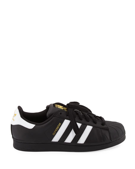 Men's Superstar Classic Sneaker, Black/White