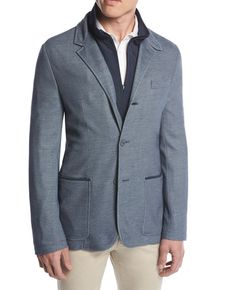 Loro Piana Two Times Three-in-One Blazer/Jacket