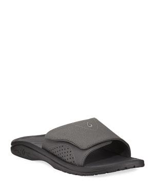 5085176b3cbd1 Men's Designer Sandals & Flip Flops at Neiman Marcus