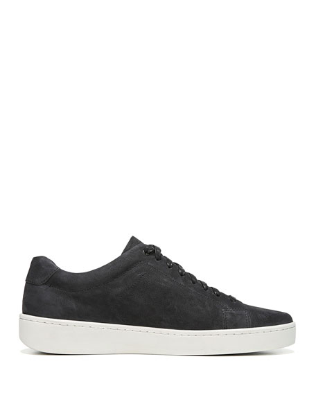 Image 2 of 3: Men's Slater Washed Nubuck Low-Top Sneakers