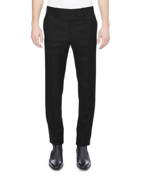 Berluti Wool-Silk Tuxedo Pants