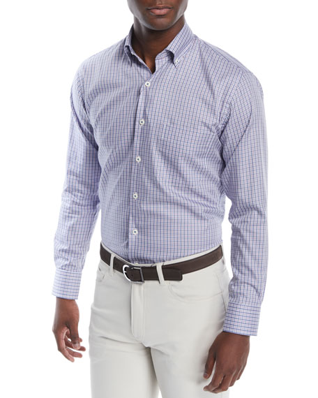 Peter Millar Men's Crown Soft Townlands Sport Shirt