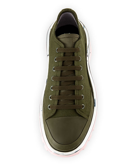 adidas by Raf Simons Men's Detroit Runner Canvas Sneakers