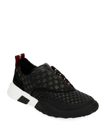 Men's Geck Checkerboard Runner Sneakers