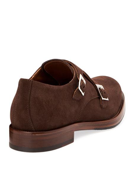 Aquatalia Men's Gavin Suede Dress Shoes
