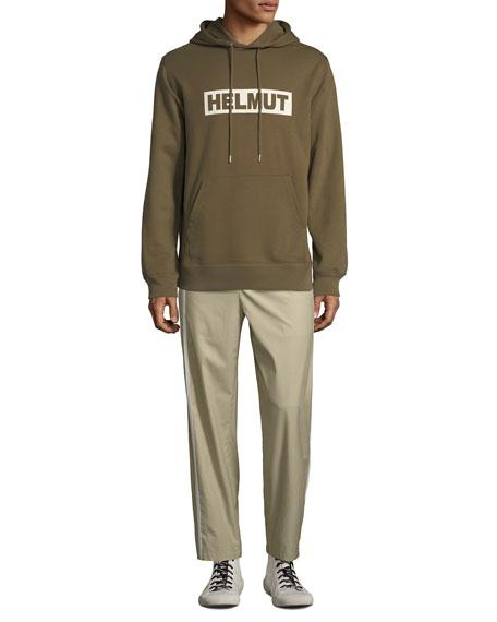 Helmut Lang Men's Sport Striped Cotton Pants