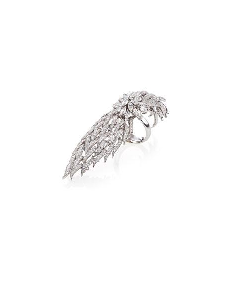 Wildfire 18k White Gold Diamond Ring