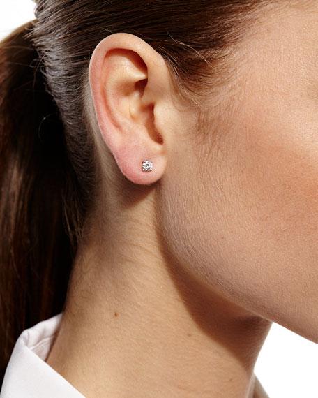 Next Classic Diamond Stud & Ear Cuff Set