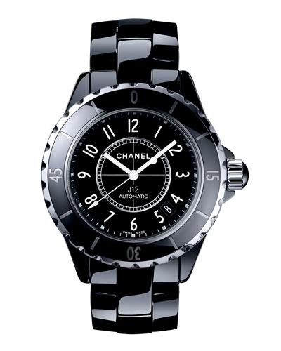J12 Black 38MM Ceramic Watch