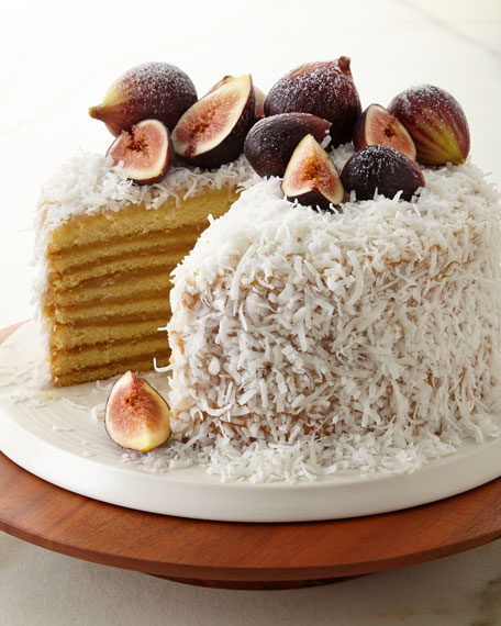 Coconut Cake, For 16 People