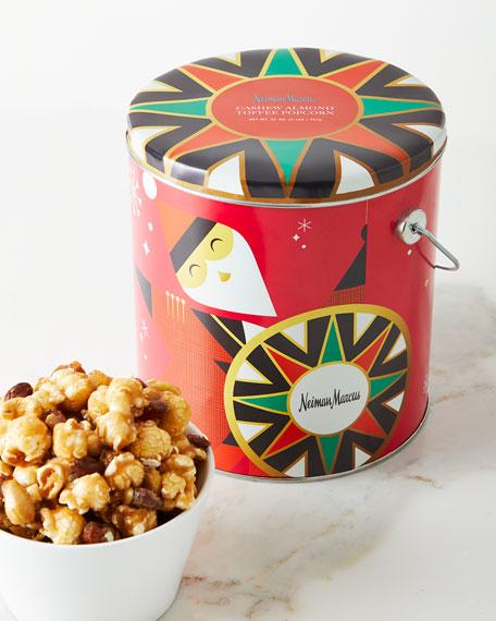 Cashew Almond Toffee Popcorn